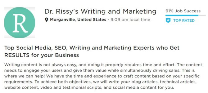 Dr Rissy's Writing – Latest Content Writing Blogs In New Jersey